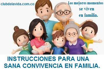 CONVIVENCIA FAMILIAR POSITIVA