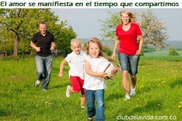COMPARTIR TIEMPO EN FAMILIA