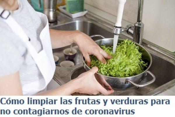 DESINFECCIÓN DE FRUVER