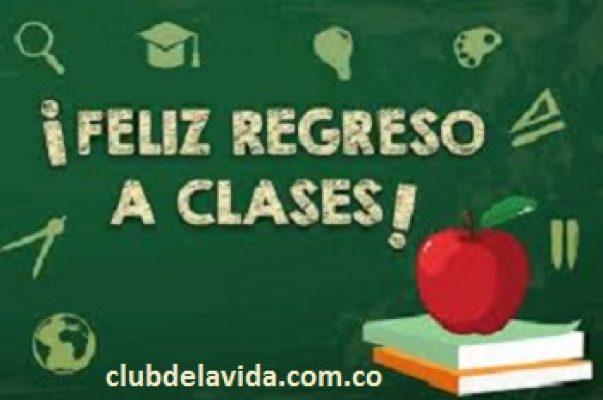 FELIZ REGRESO A CLASES 2
