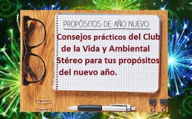 PROPÓSITOS AÑO NUEVO CLUB