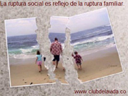 RUPTURA FAMILIAR
