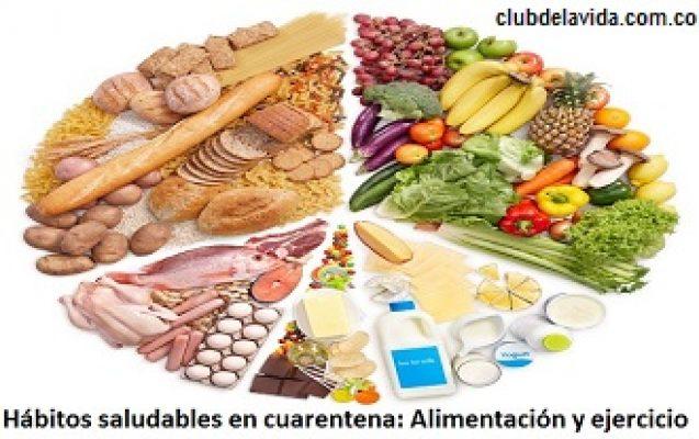 alimentacion y deporte en cuarentena